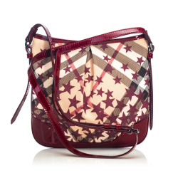 Burberry Supernova Julia Canvas Crossbody Bag