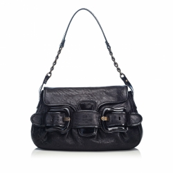 Fendi Leather B Bis Handbag