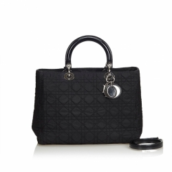 Christian Dior Cannage Nylon Lady Dior