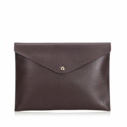Louis Vuitton Taiga Document Case Clutch Bag