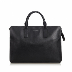 Alexander McQueen Leather Heroic Briefcase