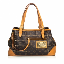 Louis Vuitton Monogram Sac Riveting
