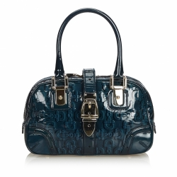 Gucci Patent Leather Horsebit Handbag