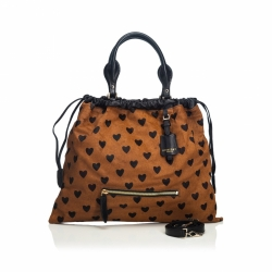 Burberry Pony Hair Big Crush Satchel
