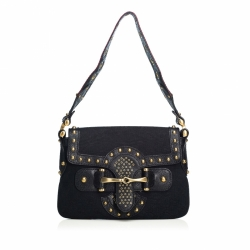 Gucci Studded GG Canvas Pelham Runway Bag