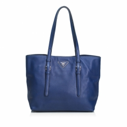 Prada Soft Saffiano Leather Tote Bag