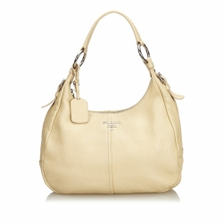Prada Vitello Daino Leather Shoulder Bag