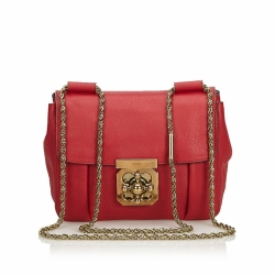 Chloé Leather Elsie Crossbody Bag