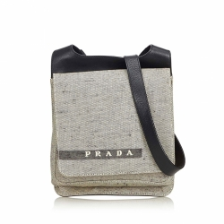 Prada Canvas Crossbody Bag