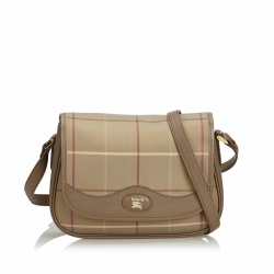 Burberry Jacquard Crossbody Bag
