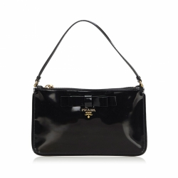 Prada Patent Leather Baguette