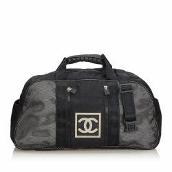 Chanel CC Nylon Sports Line Duffle Bag