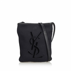 Yves Saint Laurent Cotton Crossbody Bag