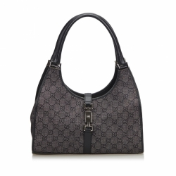 Gucci GG Denim Jackie Shoulder Bag