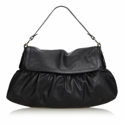 Fendi Leather Chef Shoulder Bag