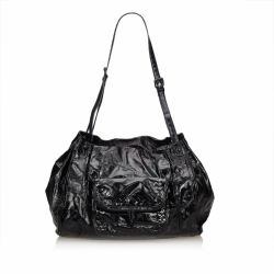 Bottega Veneta Patent Leather Shoulder Bag