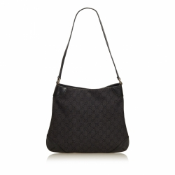 Gucci ssima Canvas Shoulder Bag