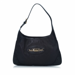 Gucci ssima Leather Punch Hobo