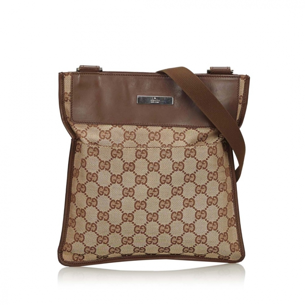Gucci GG Canvas Crossbody Bag