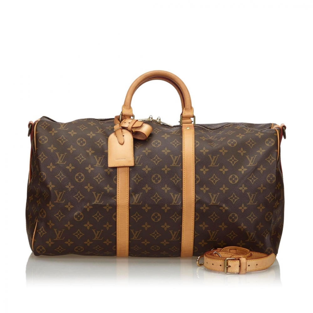 Louis Vuitton Monogram Keepall Bandouliere 50
