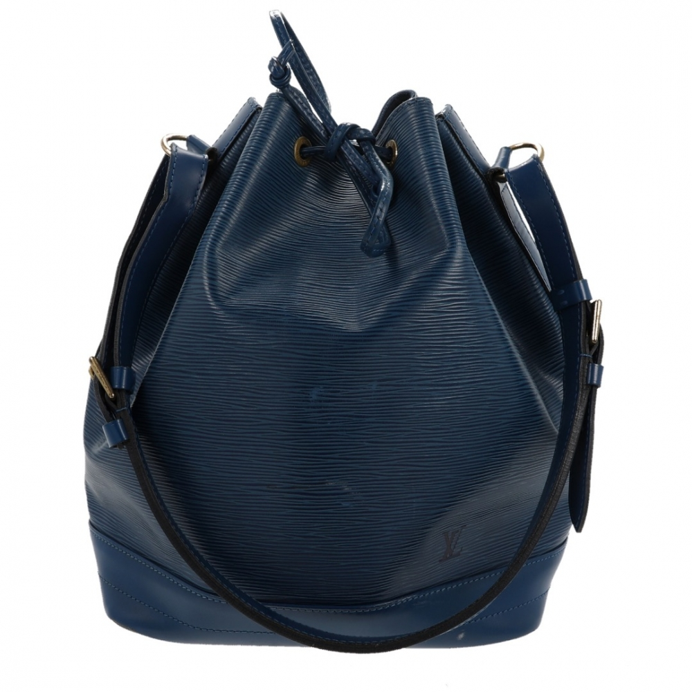 Louis Vuitton Grand Noé Tasche, blau Epi