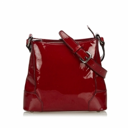 Burberry Patent Leather Crossbody Bag