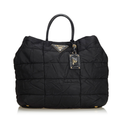 Prada ON SALE!!! Quilted Nylon Tote Bag