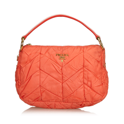 Prada Quilted Nylon Shoulder Bag