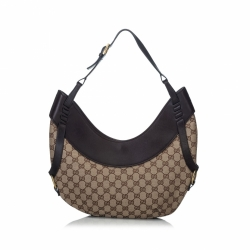 Gucci GG Canvas Hobo Bag