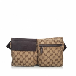 Gucci GG Jacquard Belt Bag