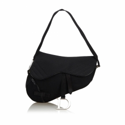 Christian Dior Nylon Saddle Bag