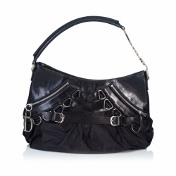 Christian Dior Leather Corset Hobo