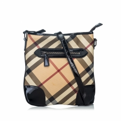 Burberry Supernova Coated Canvas Dryden Crossbody bag