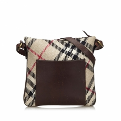 Burberry Supernova Check Tweed Crossbody