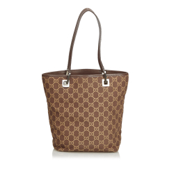 Gucci ssima Canvas Tote Bag