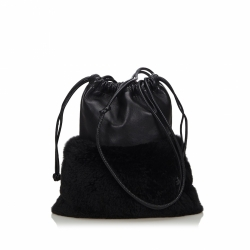 Alexander Wang Leather Drawstring Crossbody Bag