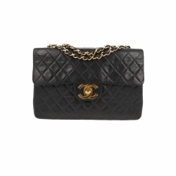 Chanel Maxi Jumbo Timeless XL Bag black quilted lambskin