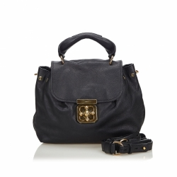 Chloé Leather Elsie Satchel