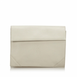Yves Saint Laurent Leather Clutch Bag