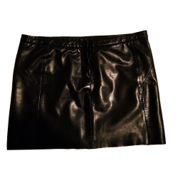 Maje Leather skirt