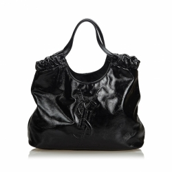Yves Saint Laurent Patent Leather Belle de Jour Tote Bag