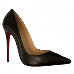Christian Louboutin So Kate Nappa Shiny Pumps