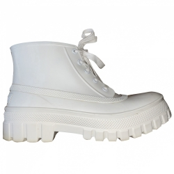 Givenchy White Jelly Glaston Rain Boots 2019