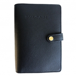Bvlgari Cigar case in grained leather