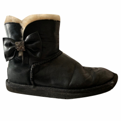 UGG black leather