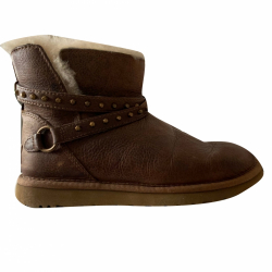 UGG brown leather
