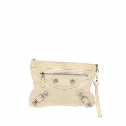 Balenciaga The handle clutch bag