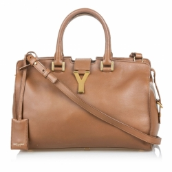Yves Saint Laurent Leather Cabas Chyc Satchel