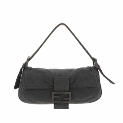 Fendi bag grey fabric