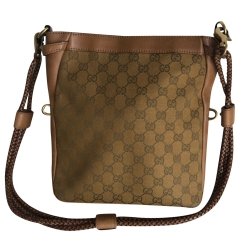Gucci Canvas shoulder or shoulder strap bag